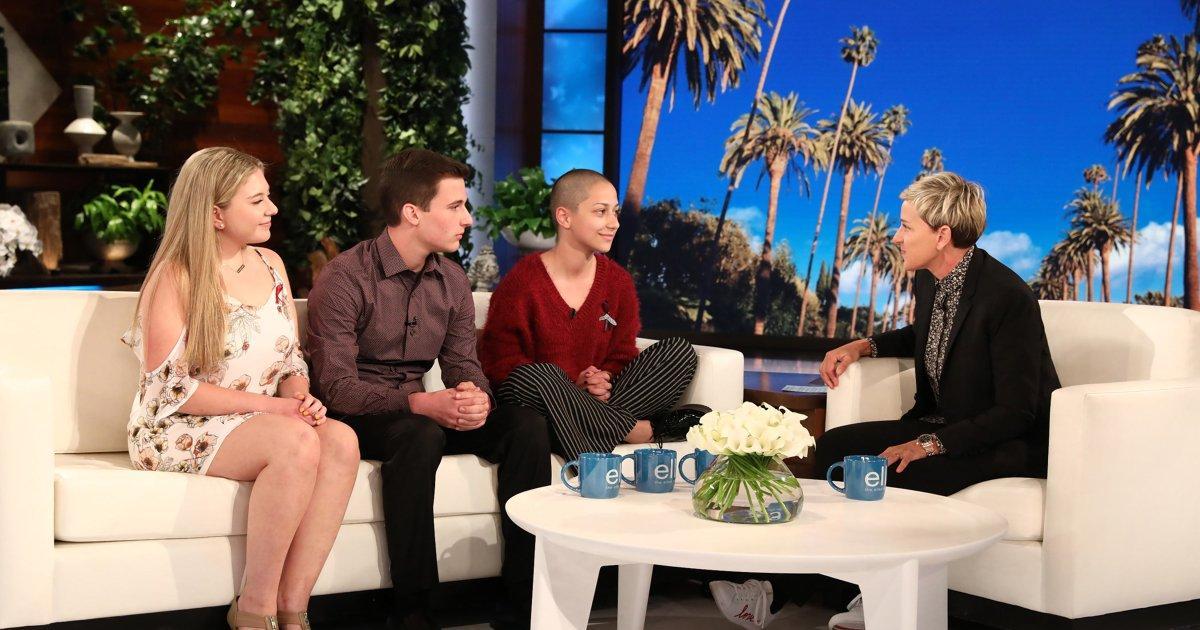 Ellen Talks Gun Control