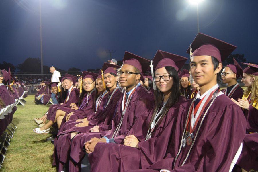 Members of 2018's graduating class.