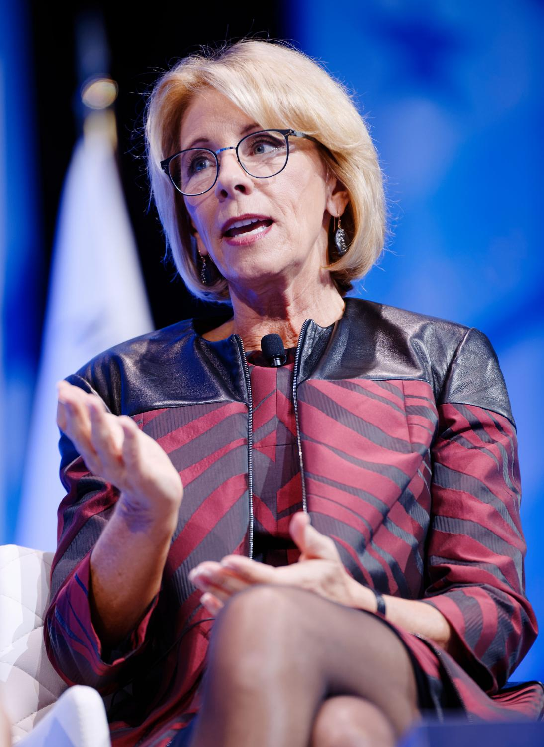 Betsy DeVos, Education Secretary
