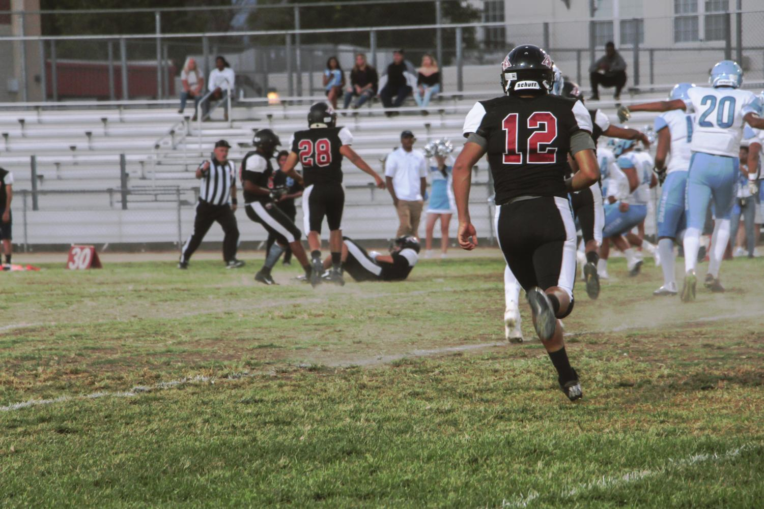 The Van Nuys Wolves looked to kick off league play with a win as they hosted the Sylmar Spartans on Sept. 14.