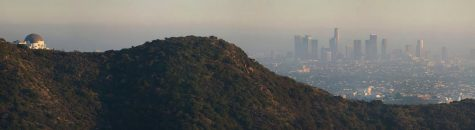 Smog obscures Downtown L.A.