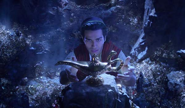 "Disney debuts the teaser trailer for the live-action adaptation of ""Aladdin."