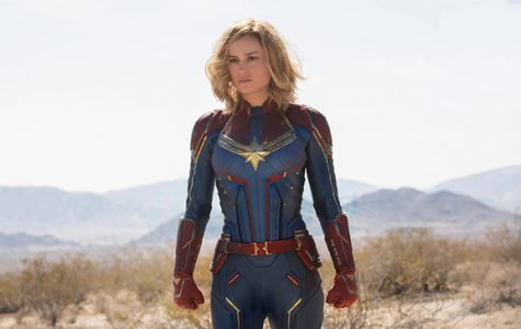 Carol Danvers in her iconic costume