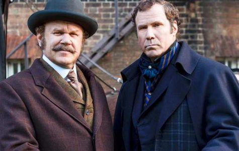 John C. Reilly and Will Ferrell stare into the camera in the upcoming movie