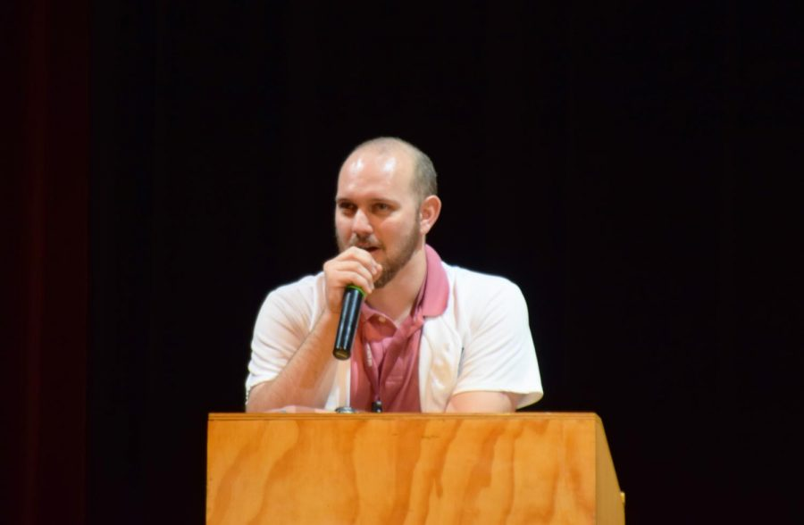 Mr.Ferrin is the asb advisor and will be working with the new elects.