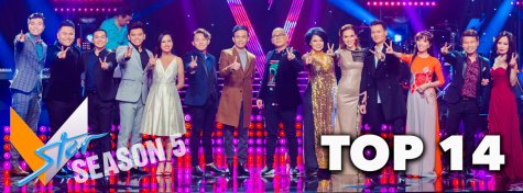 VStar contestants stand together