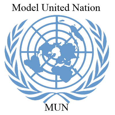 Modeled after the United Nations, MUN is a committee simulation.