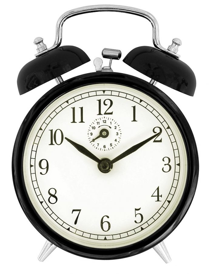 Clocks spring forward one hour at 2 a.m. on Sunday March 10, when Daylight Savings Time begins.