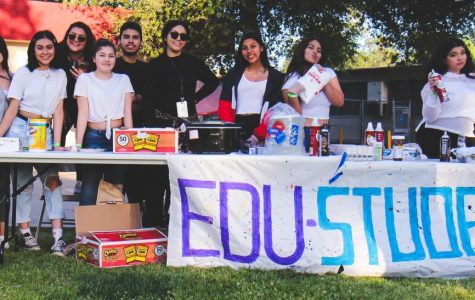 Educare students sold different foods.