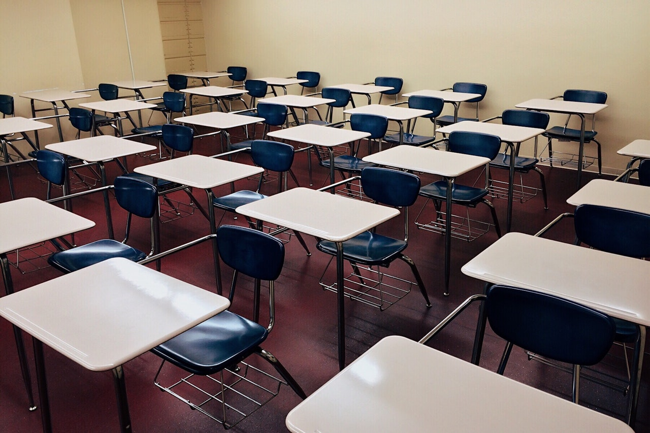 Classrooms are emptier these days because so many seniors are absent.