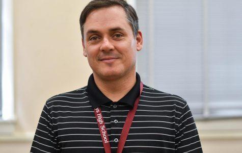 Q&A: New English Teacher Mr. Lutz