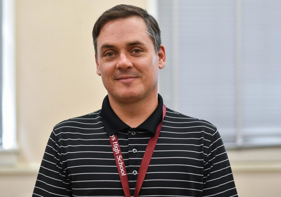 Mr. Lutz joins the faculty as the new English teacher.