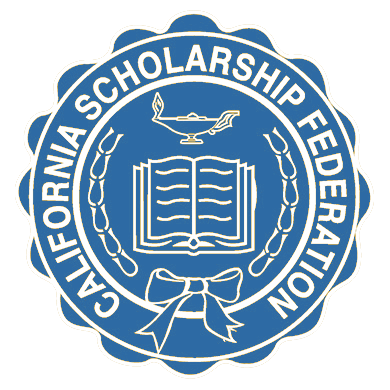 The logo for the California Scholarship Federation.