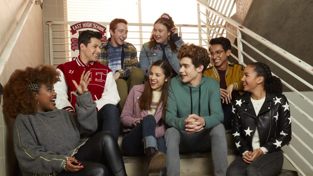 The cast of the upcoming spin-off High School Musical: The Musical: The Series on Disney+.