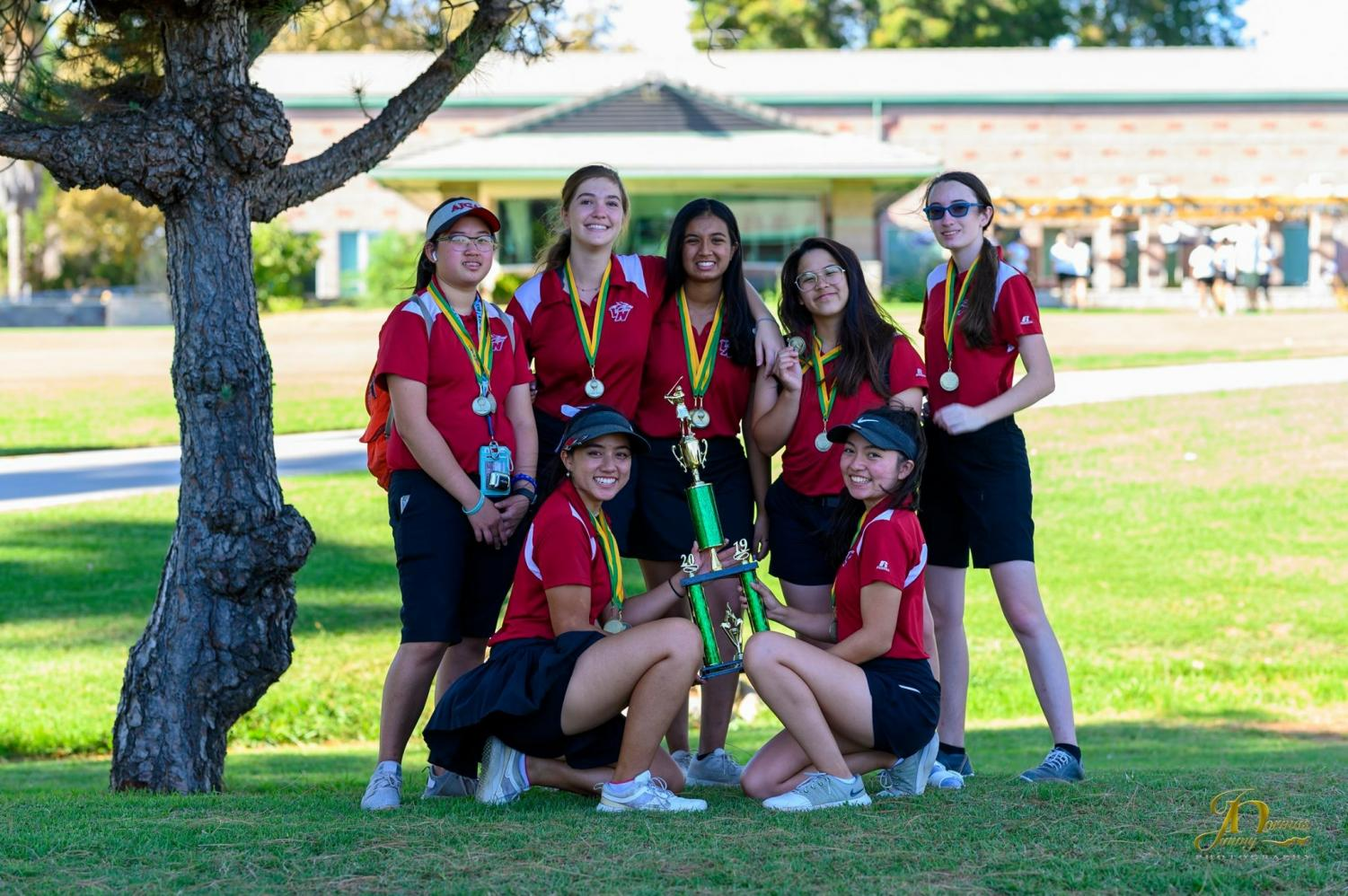 Girls Golf Takes it Home