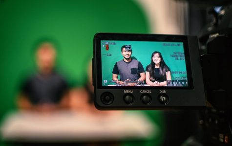 Shifting gears and rolling out with new equipment as going from announcements over the PA to live streaming are steps to a more technological future. Miguel Morales and Megan Dulkanchainun are the very first anchors for the new