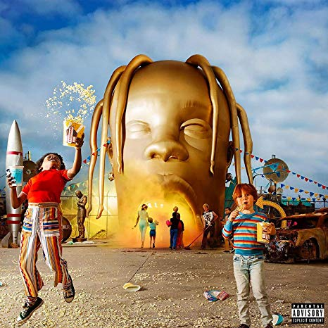 The official cover for Travis Scott's critically acclaimed album