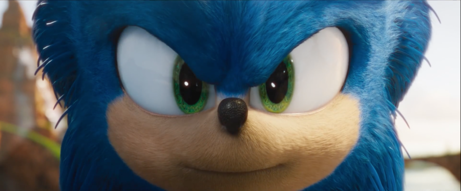 Sonic the Hedgehog, played by Ben Scwartz.