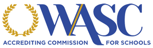 The logo for the Western Association of Schools and Colleges.
