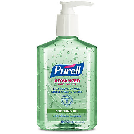 Purell claimed without proof their hand sanitizers can prevent Ebola, MRSA or the flu.