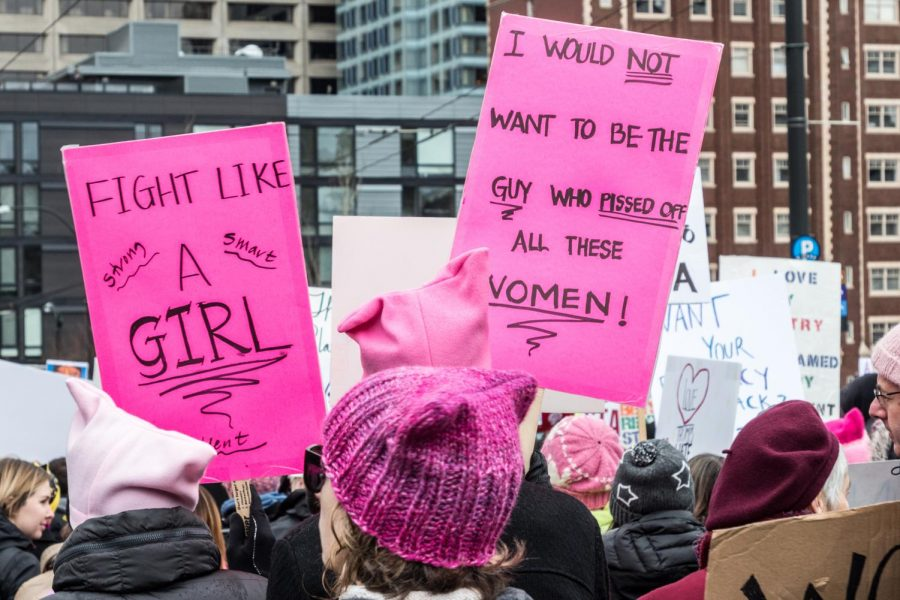 "The ""F"" word: Feminism front and center"