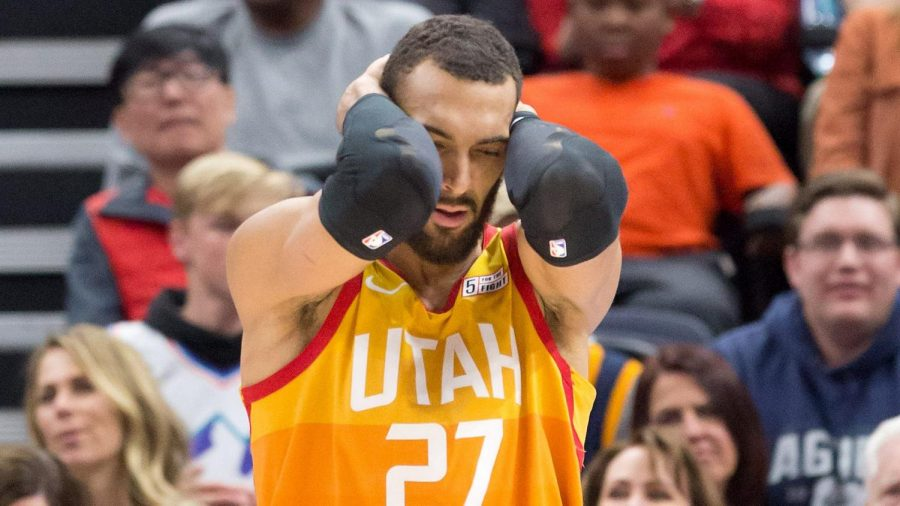 Rudy Gobert joked about the coronavirus and even touched the mics and tables as a statement. He is now the first NBA player to be affected by it.