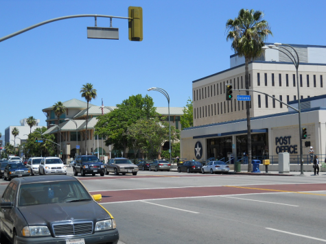 The city of Van Nuys at Van Nuys and Delano.