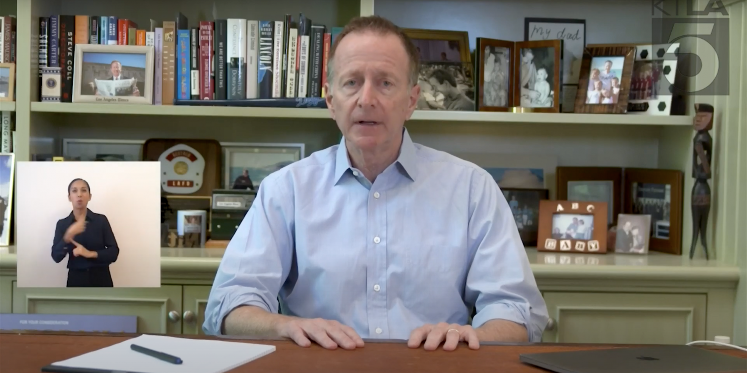 WATCH: District Superintendent Austin Beutner addressed summer school and online learning