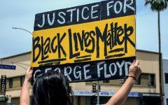 IMAGES: George Floyd protestors at Van Nuys City Hall