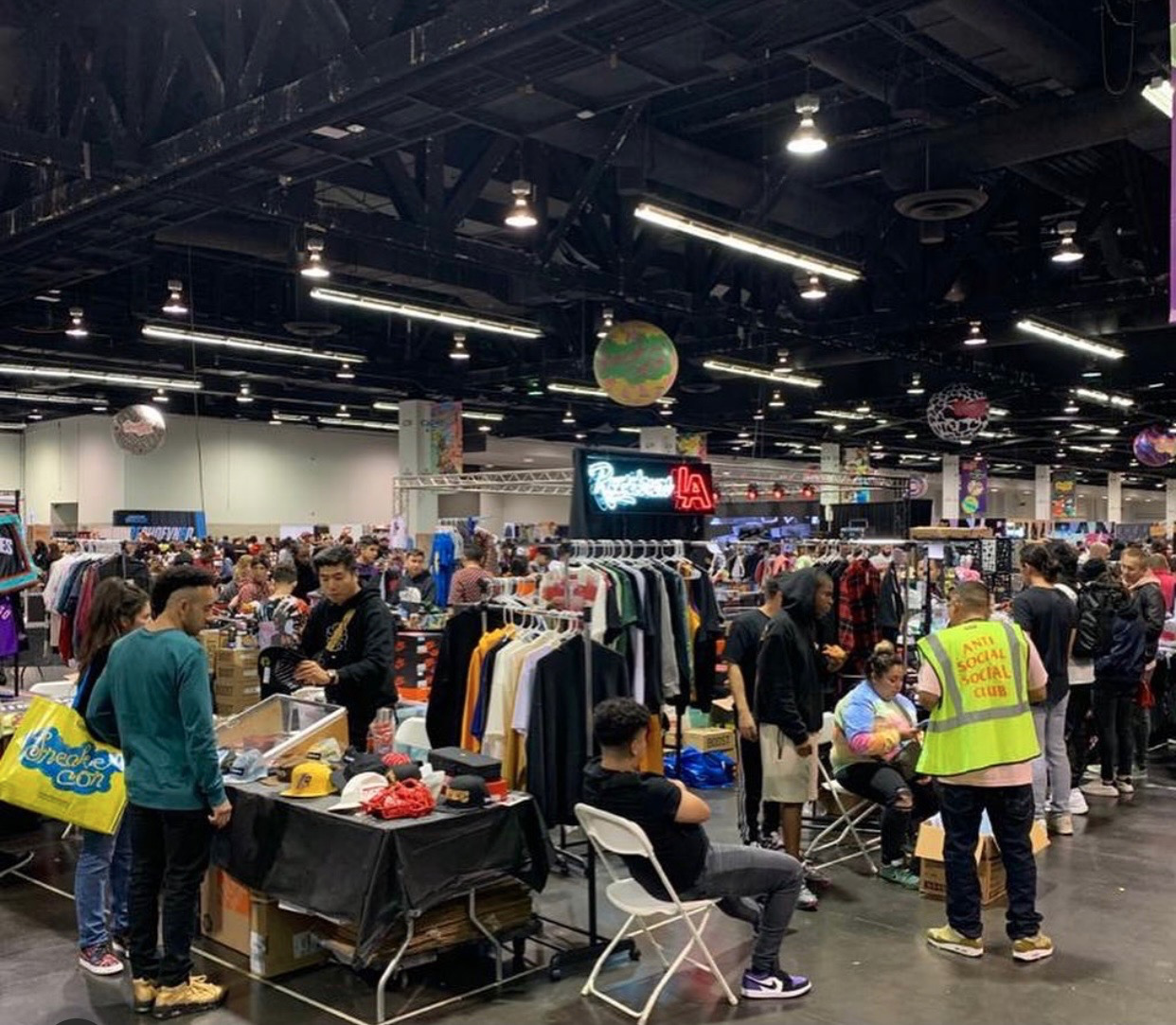 Thousands of sneaker enthusiasts will gather in convention centers and have their chance to resell or buy the hottest collabs out there.