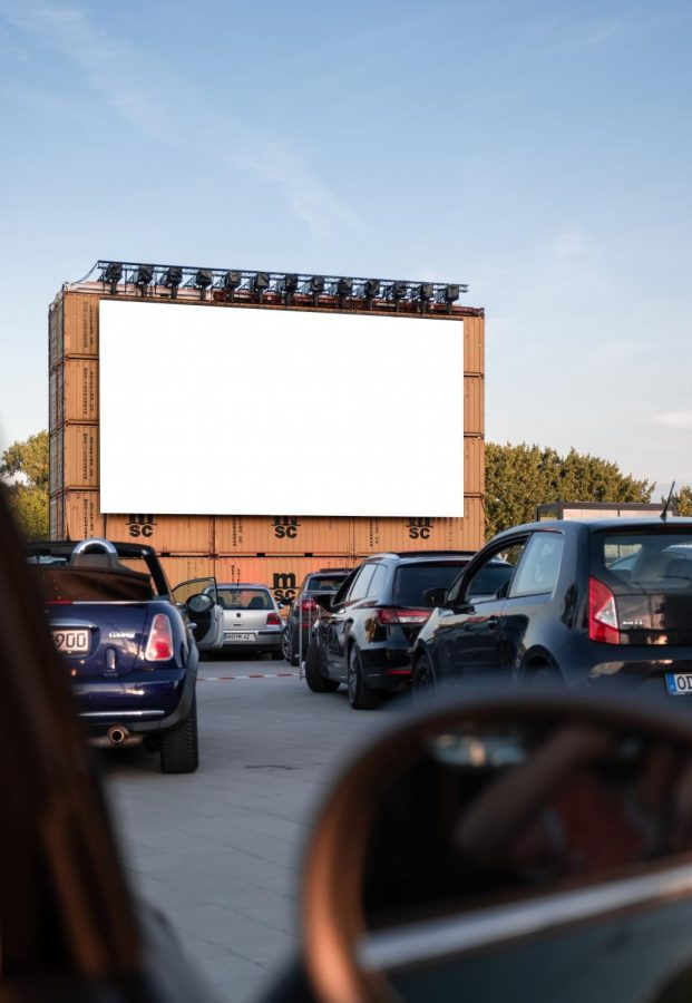 Movie theaters are opening drive-ins. where you can enjoy going to the movies and stay safe in your car.