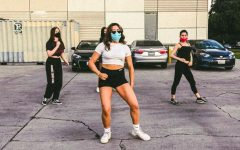 Elizabeth Zepeda teaches a hip hop dance at the Van Nuys/Sherman Oaks Recreation Center.