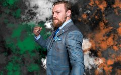 Conor McGregor stands tall and ready for a fight not knowing the outcome will be his defeat.
