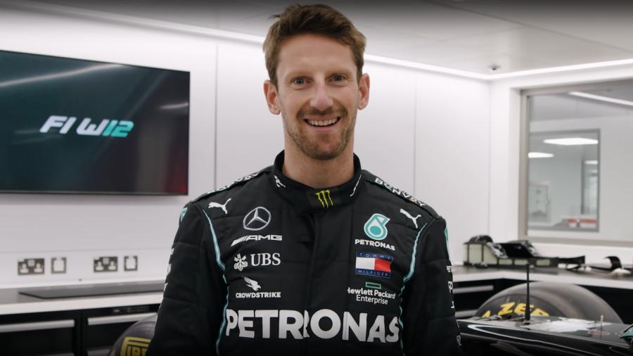 Mercedes keeps promise to Romain Grosjean