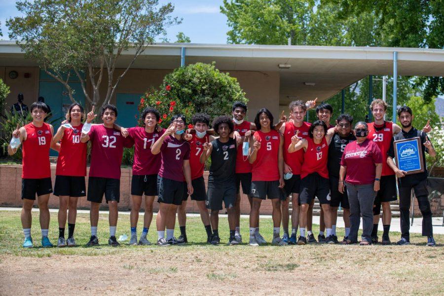 Van Nuys High School 2021 Division 1 champions.