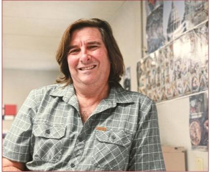 Mr. Crosby retires after 23 years of teaching at Van Nuys High School.