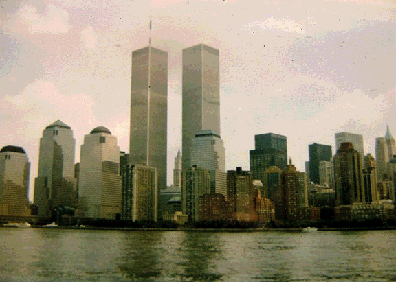 BEFORE THE FALL The twin towers in lower Manhattan in New York City dominated the skyline before the September 11, 2001 terrorist attacks.