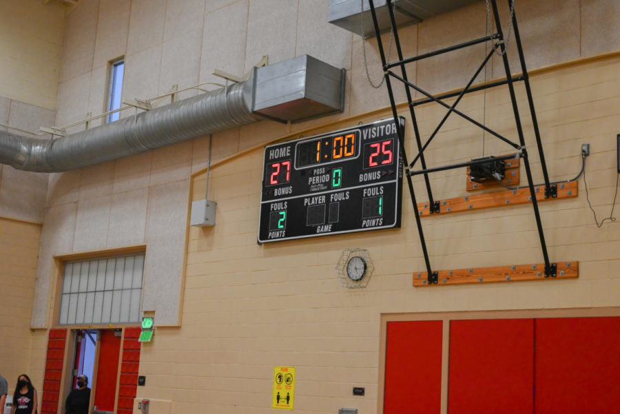 After a hard earned win, the lady wolves were able to score their first win at home.