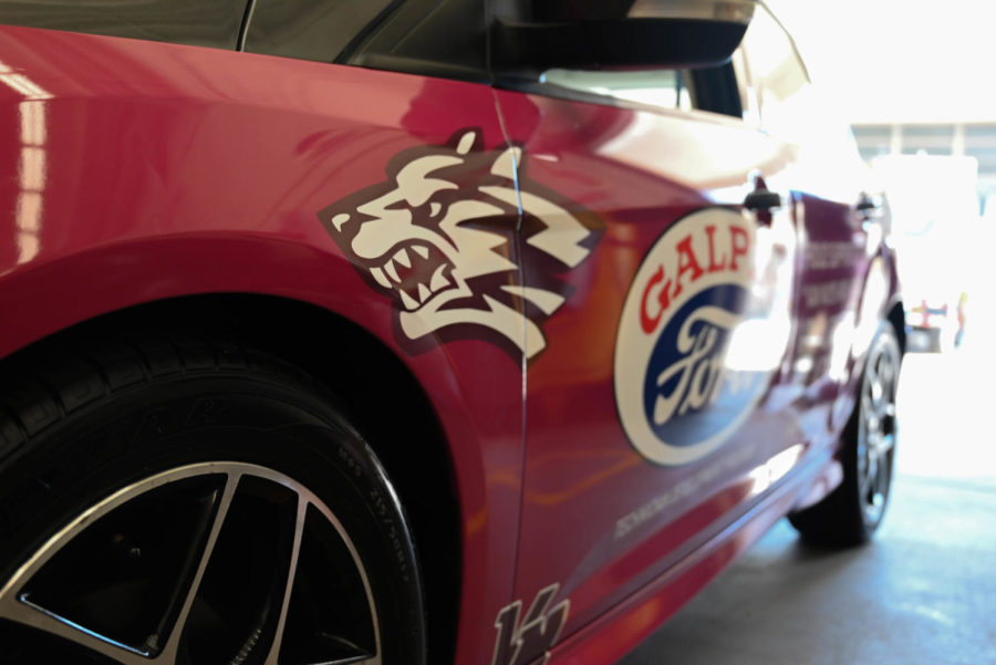 This beautiful Ford Focus, wrapped in a special livery dedicated to the Van Nuys automotive program, was gifted to the school from Galpin Ford.