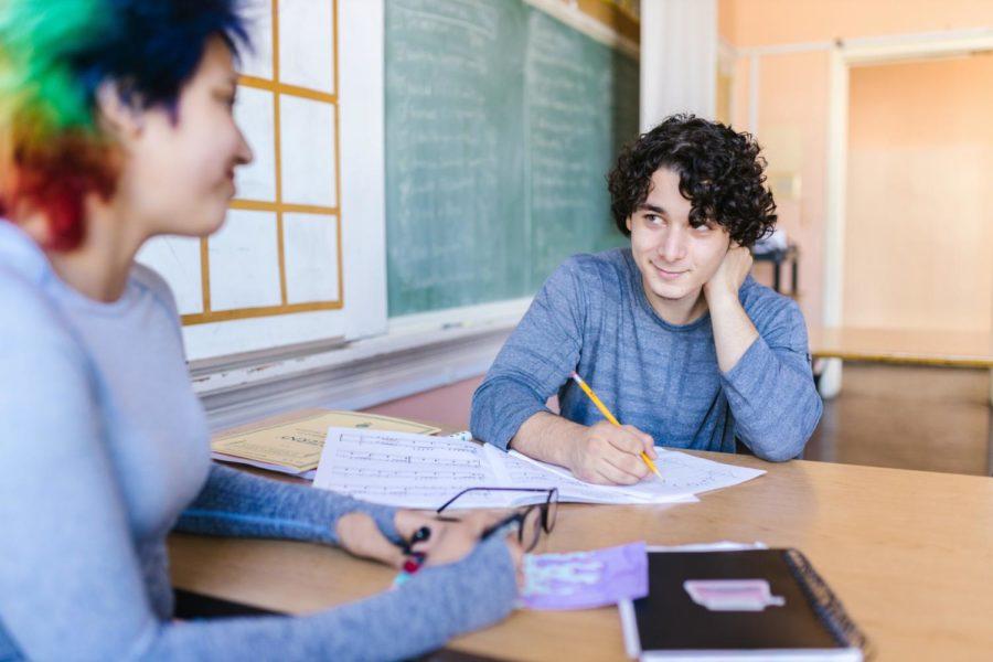 PLAYLIST | POV You have a school crush